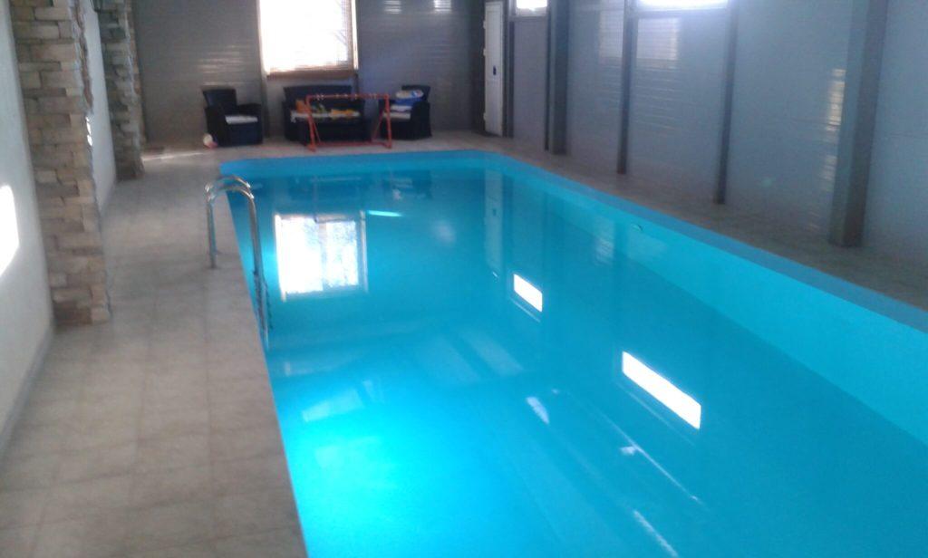 Курган. Полипропиленовый бассейн 4х12 м