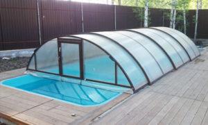 Мобильный павильон для бассейна