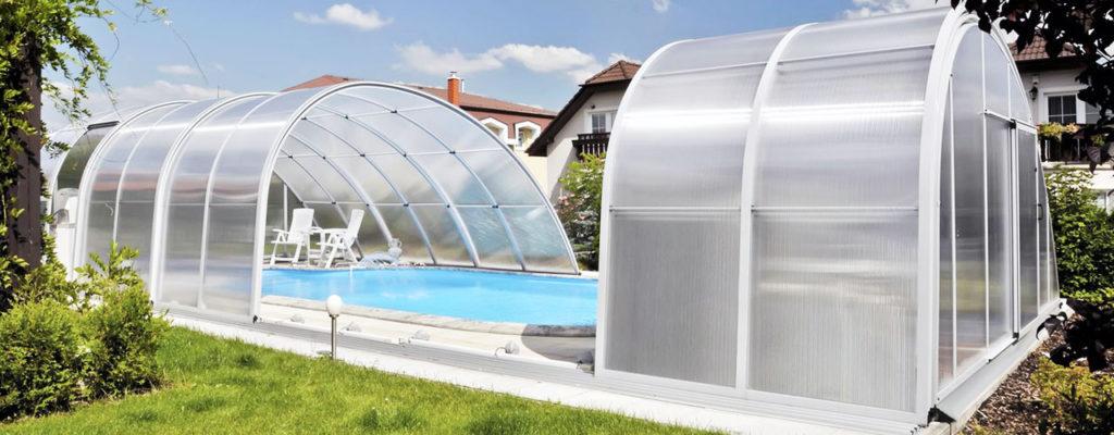 Павильоны для бассейнов. Разновидности мобильных павильонов